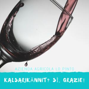 Del buon vino: l'ingrediente principale del Kalsarikännit